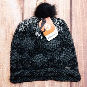New Pistil Designs Women's Foxie Beanie, Charcoal